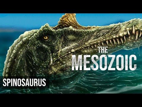 Spinosaurus, The MESOZOIC (personal project) - Speedpaint - digital illustration thumbnail