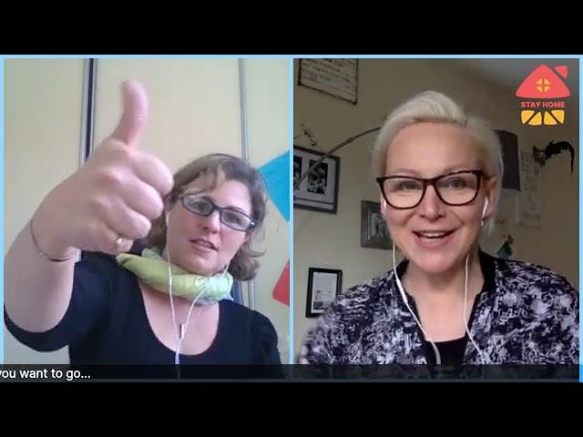 T- Talk with Elena & Christelle