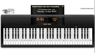 Demons - Imagine Dragons - Virtual Piano with Autokeyboard