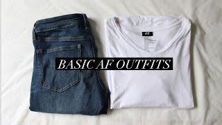💕 BASIC AF OUTFITS 💕