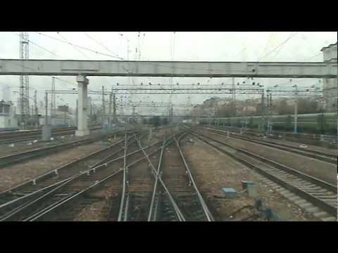 От Киевского вокзала до ст. Апрелевка в кабине ЭД4М