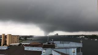 Tornado on Okaloosa Island    - Video by Keith Schreck