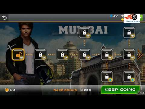 hrithik bike racing game mod apk
