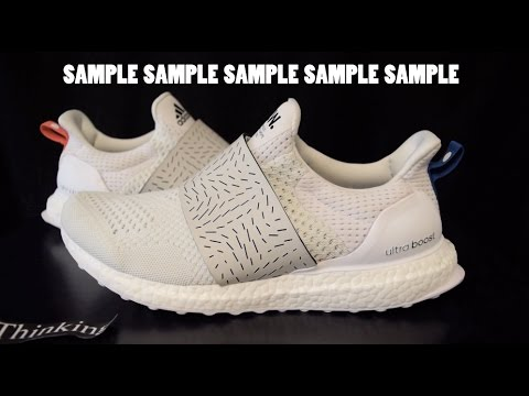 df2619b8f SAMPLE Adidas X Wood Wood Ultra Boost Consortium - YouTube