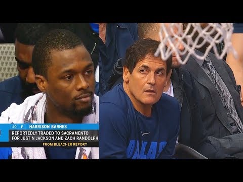 The Morning Rush with Travis Justice and Heather Burnside - Harrison Barnes Learns He Was Traded During Mavs Game