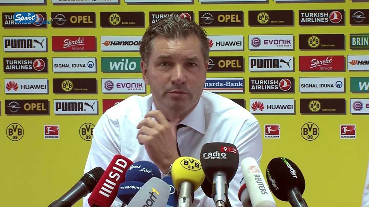 BVB Pressekonferenz vom 19. September 2013 vor dem Spiel 1.FC Nürnberg gegen Borussia Dortmund