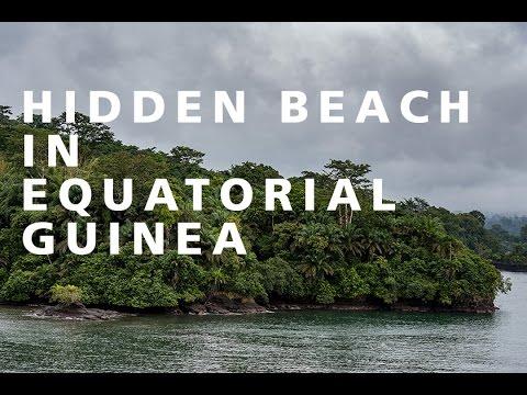 EXPLORING A HIDDEN BEACH IN EQUATORIAL GUINEA