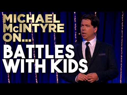 Feeding, Dressing, Washing And Putting Kids To Bed Is A Never Ending Battle! | Michael McIntyre