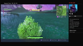 Fortnite Solos//I Play With Subs//Ps4//Live Stream