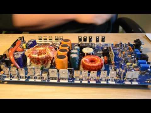 How to repair a blown amp- Hifonics 1500D