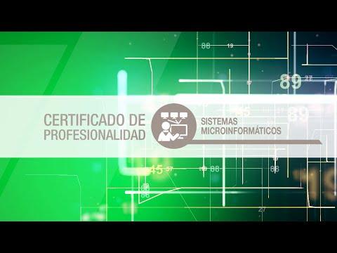 Certificado de Profesionalidad: