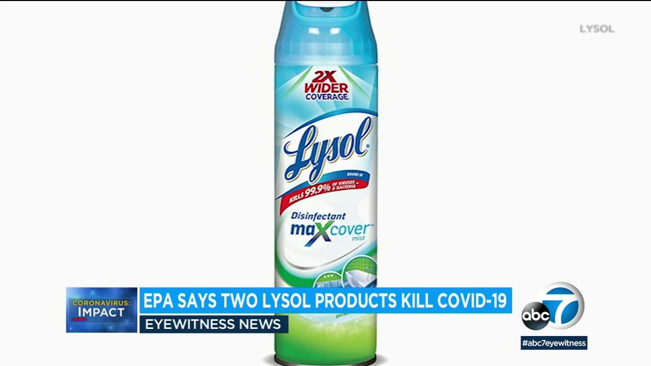 Where to Buy Lysol Disinfectant Spray Approved by EPA to Kill ...