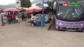 Como son los Buses Superespeciales de S S a San Miguel El Salvador