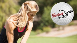 Anna Rawson Shows You How to Hit a Checked Wedge Shot | Sexiest Shots in Golf | Golf Digest