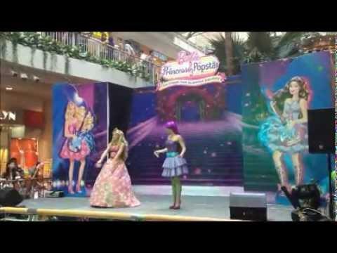 Barbie the Princess and the Popstar Musical Show Dec 2012 Singapore, Part 1