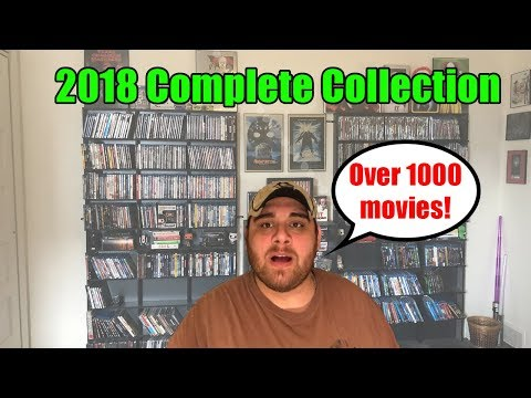 2018 Complete Collection: Over 1000 Movies!