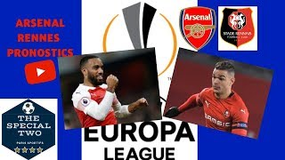 Paris Sportifs Pronostics Arsenal Rennes Ligue Europa