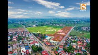 Dự án khu đô thị Dĩnh Trì- Vị trí kim cương- thông thương buôn bán