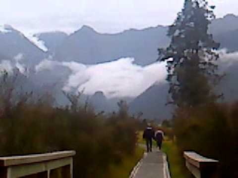 Trails of Lake Matheson