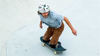 Skateboarder With No Legs Aspires To Be A Pro: BORN DIFFERENT