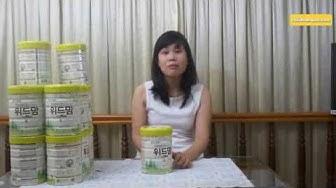 Sữa Withmom - Sữa hữu cơ nội địa Hàn Quốc