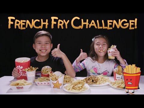 Thumbnail: FRENCH FRY CHALLENGE!!! w/ Homemade Zucchini Fries Prank!