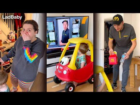 When Dad Hacks A Closed McDonald's 🍔🍟