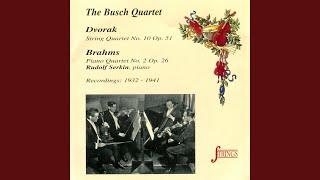 Piano Quartet No. 2 in A, Op. 26: I. Allegro non troppo