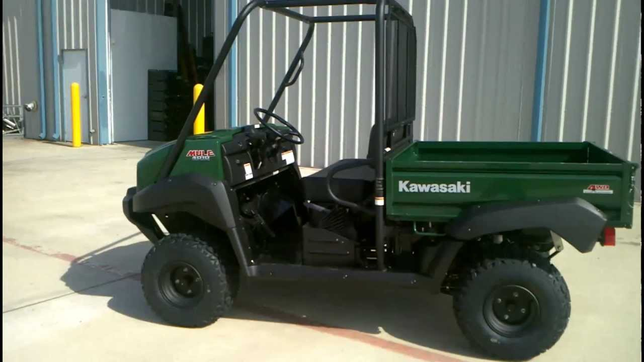 Kawasaki Mule 4x4 Overview And Review