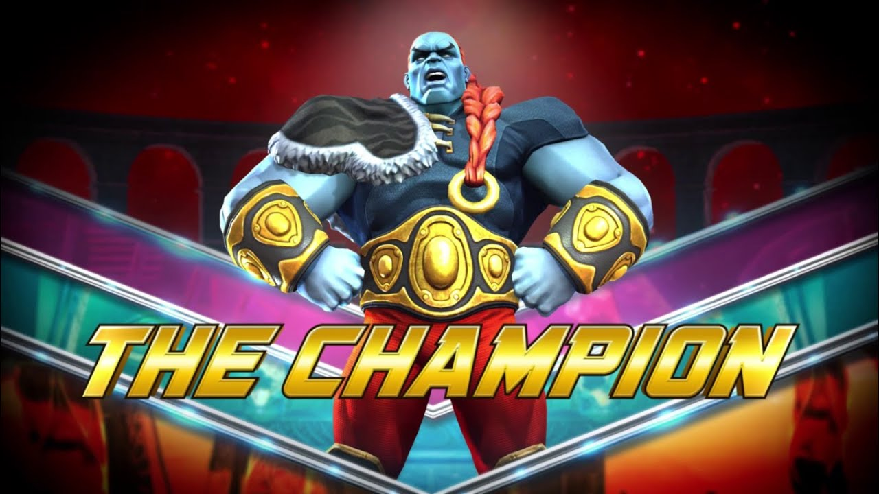 The Champion | Marvel Contest of Champions - YouTube