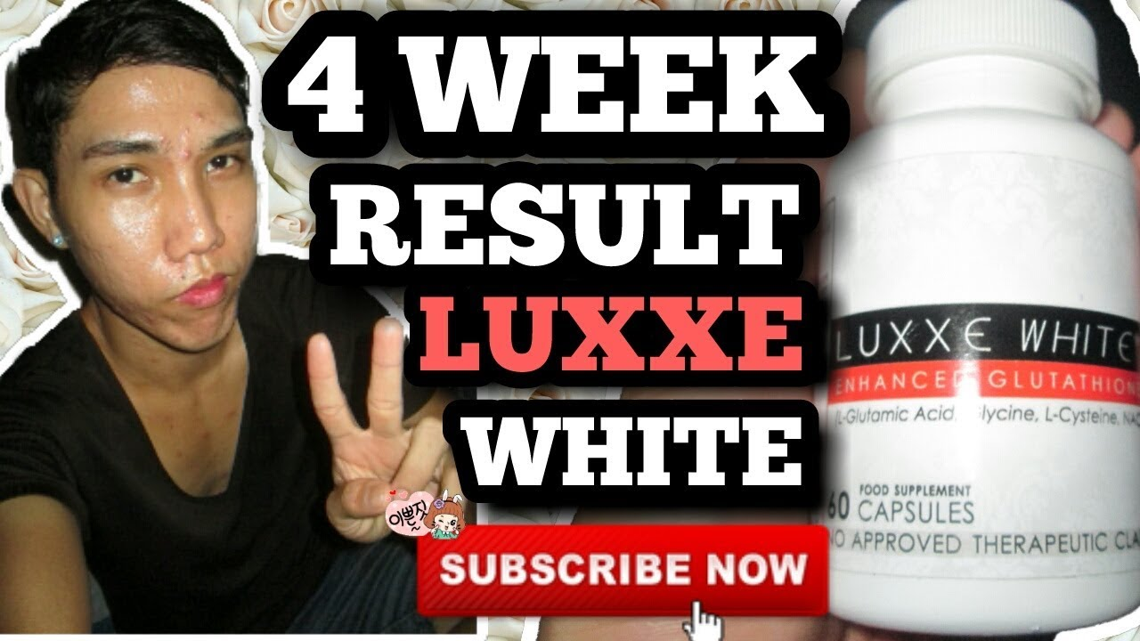 LUXXE WHITE FRONTROW AFTER 4 WEEKS RESULT