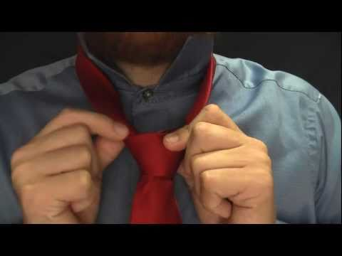 HALF WINDSOR KNOT: The BEST video on how to tie a tie by the expert