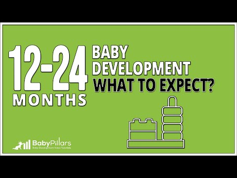 12 - 24 Months Old Baby Development - What To Expect - 2019 Update