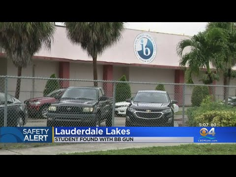 Lauderdale Lakes Middle School Student Found With BB Gun
