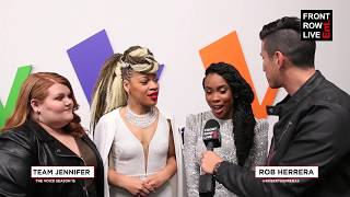 The Voice Season 15 Top 13 | Team Jennifer Hudson Interview