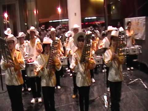 January 9, 2010 Sunnyside  Marching Corp Playing for the Inauguration of Jimmy Van Bramer