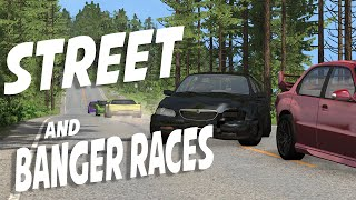 BeamNG Drive - STREET & BANGER RACES | BeamNG Drive Gameplay, Highlights, And Funny Moments