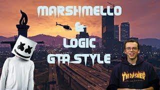 GTA 5 Marshmello & Logic EVERYDAY
