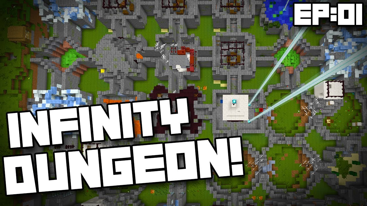 Minecraft Adventure Map Infinity Dungeon Ep Every Time I - Adventure maps fur minecraft