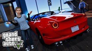 SIE BEKOMMT EIN NEUES AUTO! 😱 - GTA 5 Real Life Mod