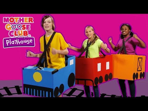 Chu Chu Train | Riding in the Train | Train Toys Baby Songs for Kids | Mother Goose Club Playhouse