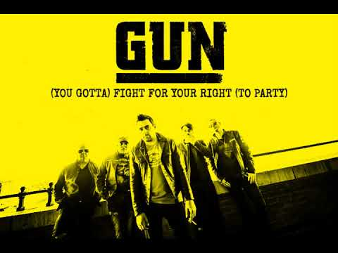 GUN - '(You Gotta) Fight For Your Right (To Party)' (audio)