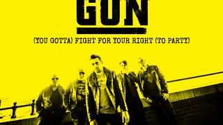 GUN You Gotta Fight For Your Right To Party Audio