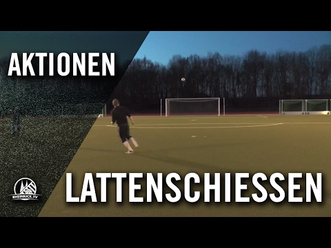 Lattenschießen - FC Sankt Augustin (Kreis Sieg, Kreisliga C, Staffel 4) | RHEINKICK.TV