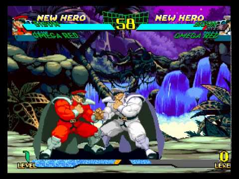 Marvel Super Heroes VS Street Fighter All Special Moves