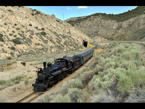 Steam spectacular! Chasing NNRY #40 on the Nevada Northern Railway