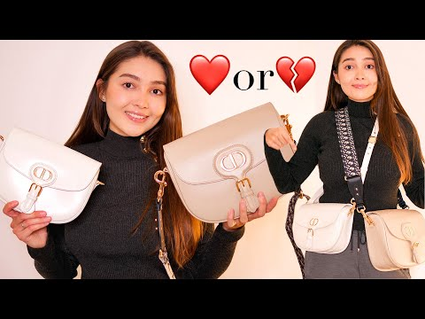 DIOR LARGE BOBBY BAG REVIEW, MOD SHOTS + COMPARISON BETWEEN MEDIUM BOBBY   WHICH ONE TO BUY?
