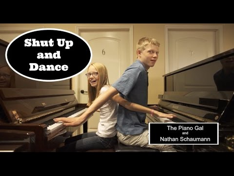 Walk The Moon - Shut Up and Dance - The Piano Gal | Sara Arkell & Nathan Schaumann