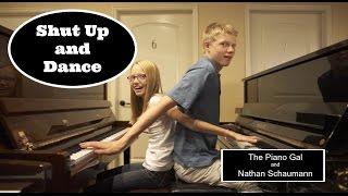 Walk The Moon - Shut Up and Dance - The Piano Gal | Sara Arkell & Nathan Schaumann