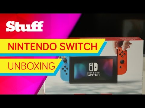 Nintendo Switch - unboxing and first look